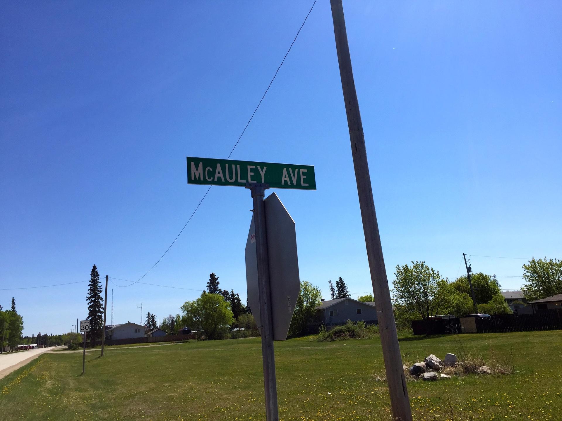 McAuley Avenue